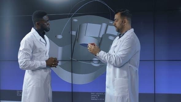 Thumbnail for Inventors Exploring 3-D Printed Item Model