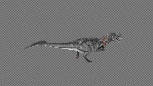 Dilophosaurus Dinosaur Run Pack 4IN1