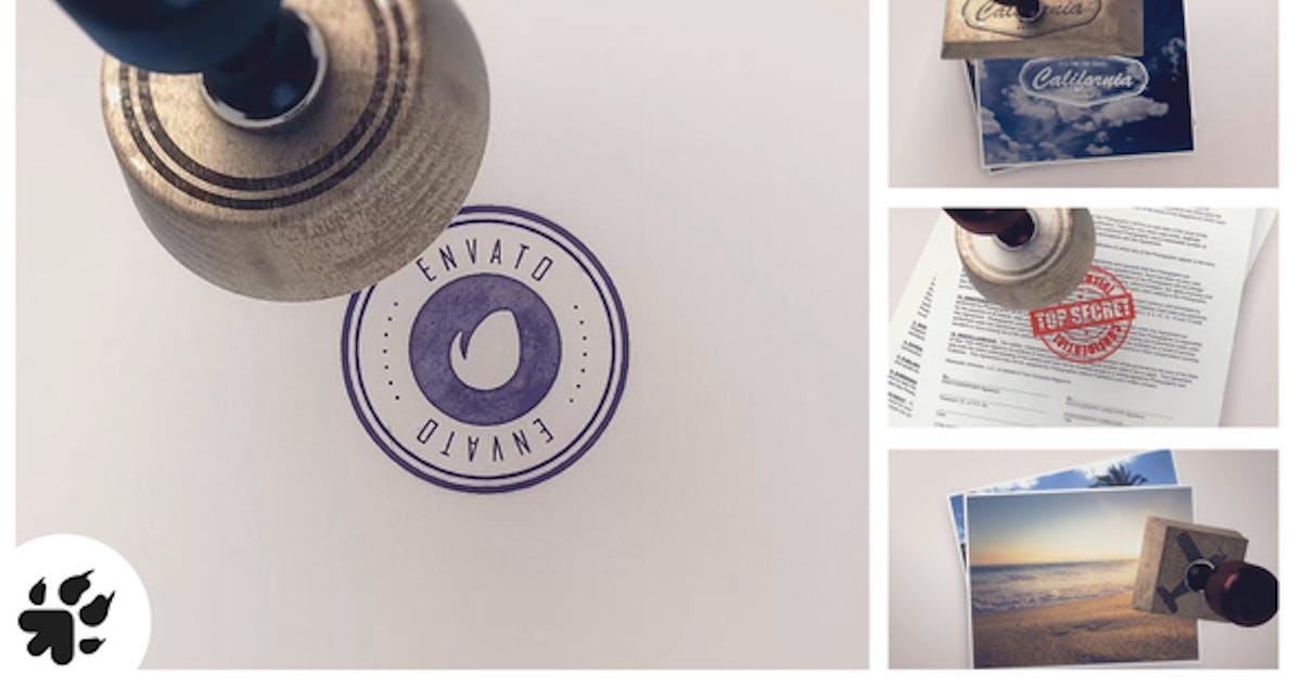 Download Logo Stamp (3 versions) by piktufa