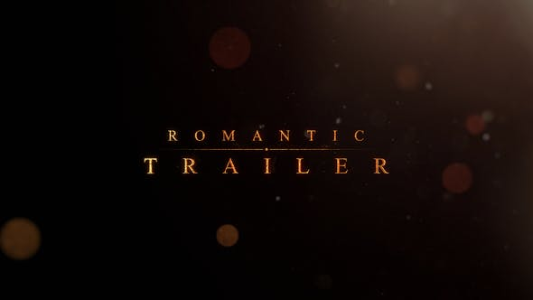 Thumbnail for Romantic | Trailer Titles