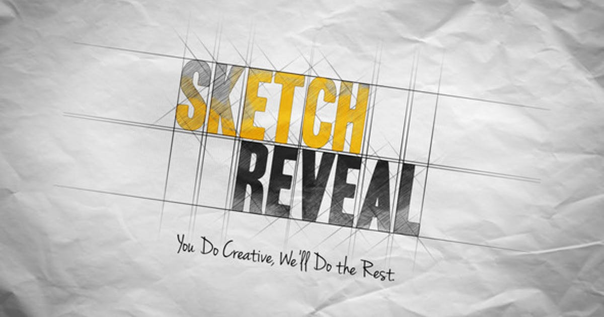 Download Sketch Reveal by AuroraVFX