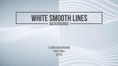 White Smooth Lines