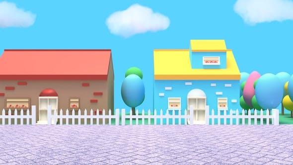 Thumbnail for Cartoon Houses