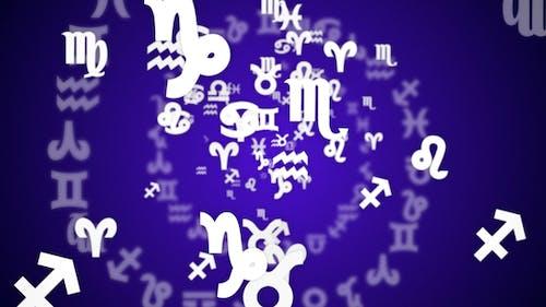 Two Falling Zodiac Horoscope Signs