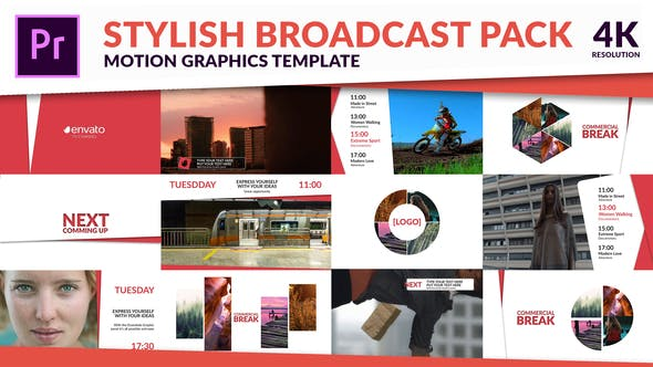 Clean TV - Stylish Broadcast Pack