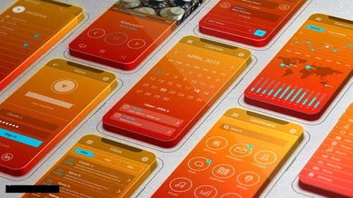 3D Screens App Promo
