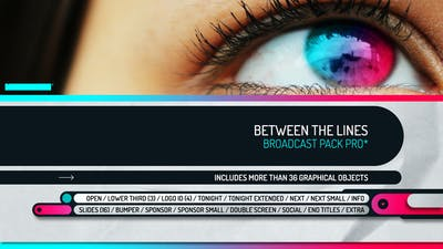 Between the Lines - Broadcast Pack Pro