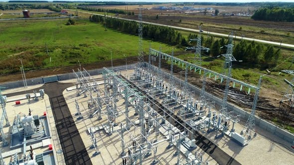 Thumbnail for Industrial Buildings and Switchgears at Substation