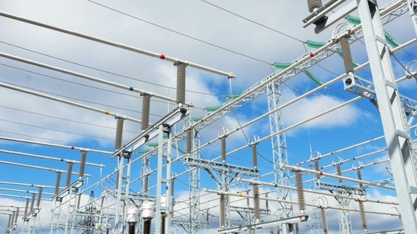 Thumbnail for Substation Transforms Current of Various Types and Frequency