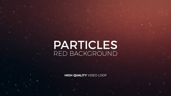 Thumbnail for Particles Red Background