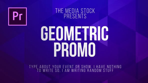 Thumbnail for Geometric Title & Lower thirds
