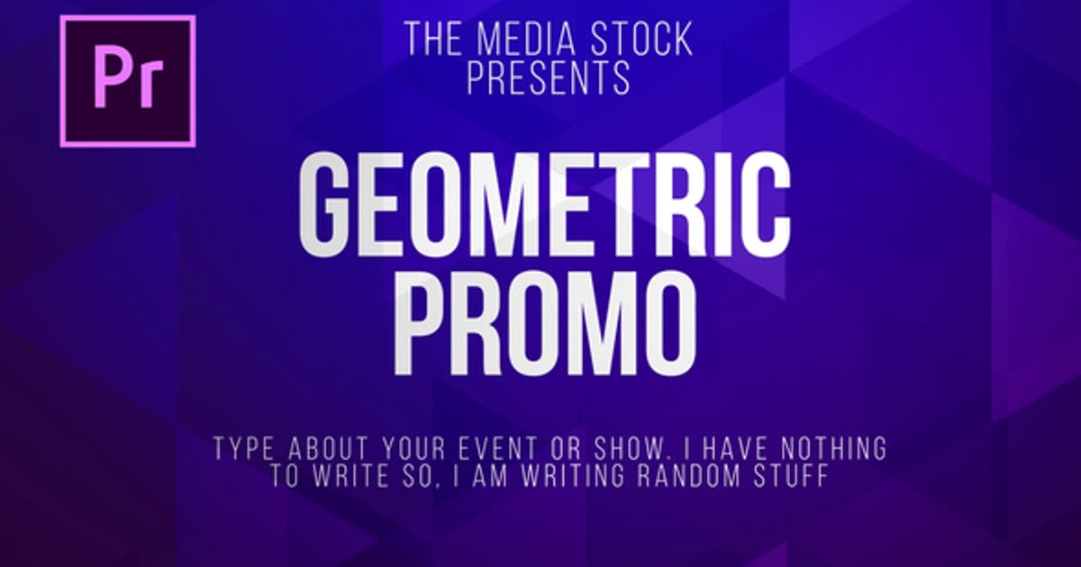 Download Geometric Title & Lower thirds by Media_Stock