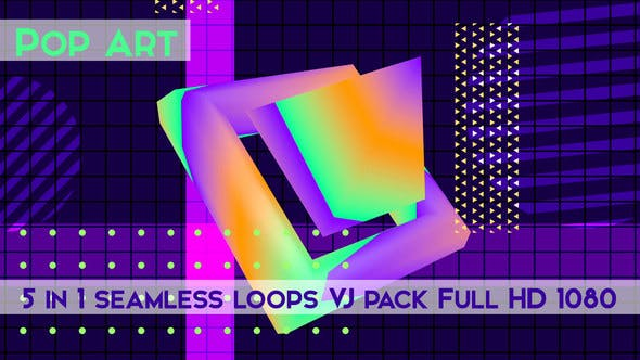 Thumbnail for Pop Art Vj Loops