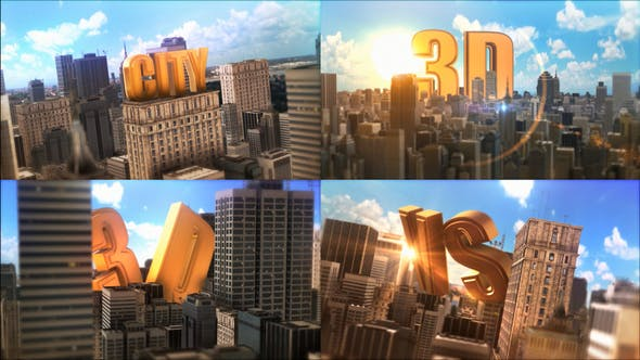 Thumbnail for Epic Golden Title In City