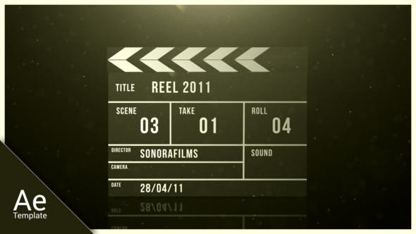 Cover Image for Clapperboard reveal