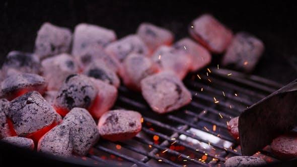 Thumbnail for Chef Preparing Hot Coals