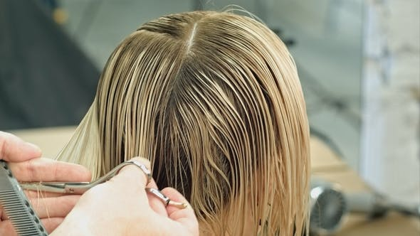 Thumbnail for Haare schneiden in einem Schönheitssalon