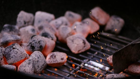 Cover Image for Chef Preparing Hot Coals