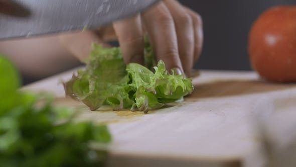 Thumbnail for Chef Chopping Some Parsley