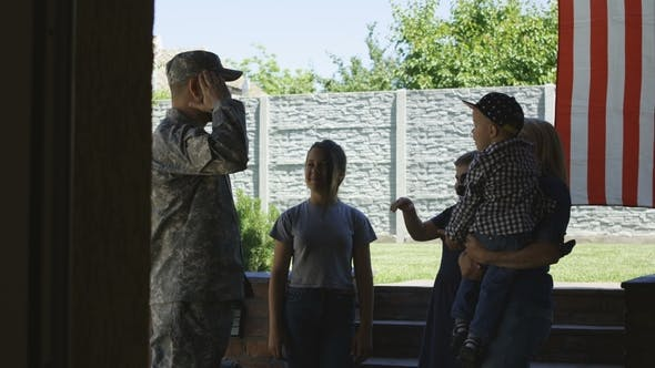 Thumbnail for Family Sending Soldier Off To Army