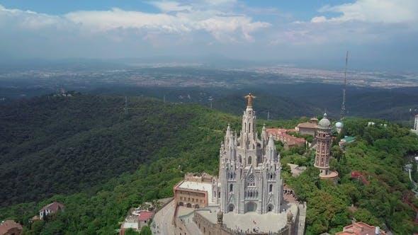 Thumbnail for Panorama of Barcelona  From Mount Tibidabo. Catalonia, Spain