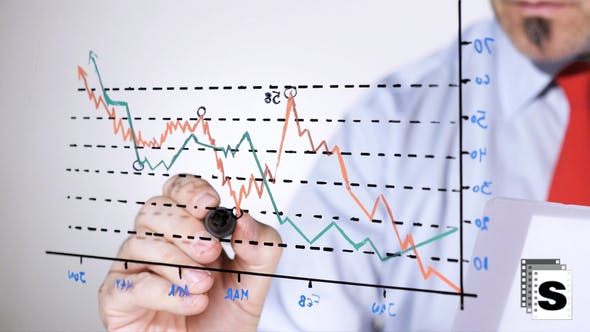 Thumbnail for Businessman Analysing Sales