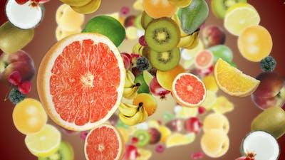 Three Falling Fruits (3 Videos)
