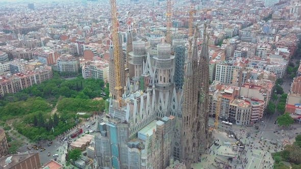 Thumbnail for Barcelona. Sagrada Familia Church