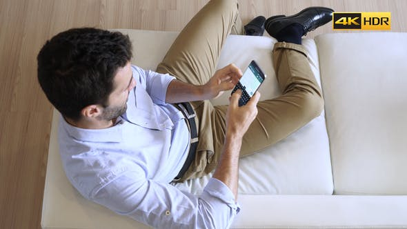 Thumbnail for Man Talking On Phone