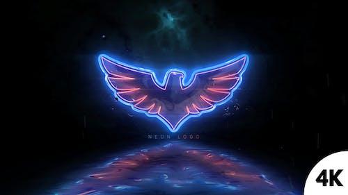 Neon Logo Reveal V2