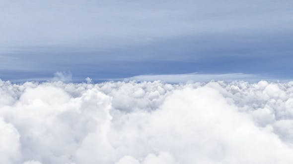 Thumbnail for 4K Flying Over Clouds