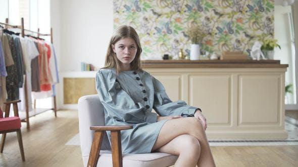 Fashion Model Posing Casting