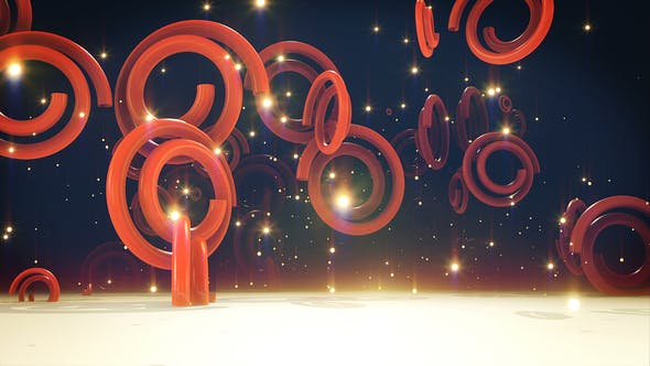 Thumbnail for Red Helix Backdrop