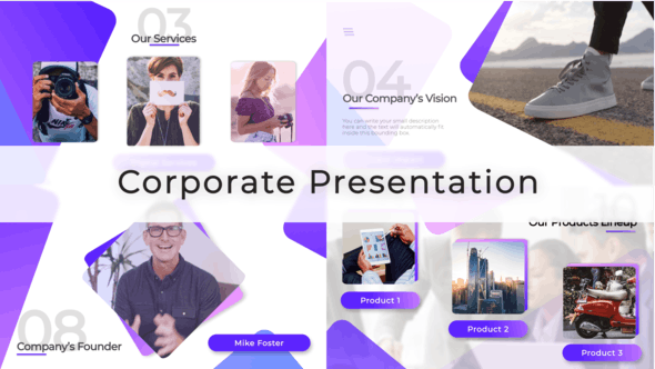 Thumbnail for Corporate Video Presentation
