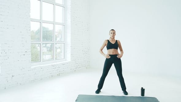 Cover Image for Fit Young Girl in Gym