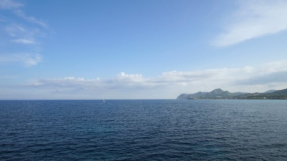 Thumbnail for Yachts. Mallorca Island. Rolling Clouds