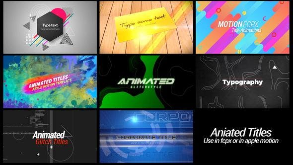 "Download 224 ""title"" Video Templates Compatible with Final"