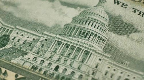 Fifty Dollars and Building United States Capitol
