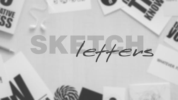 Thumbnail for Sketch Letters