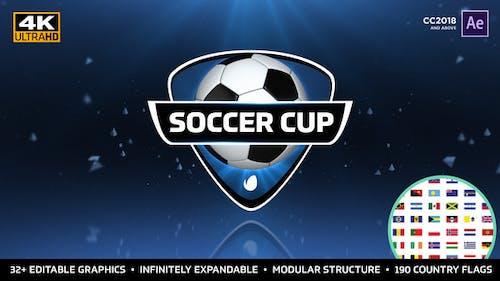 Copa Mundo de Fútbol - Paquete Internacional de Fútbol