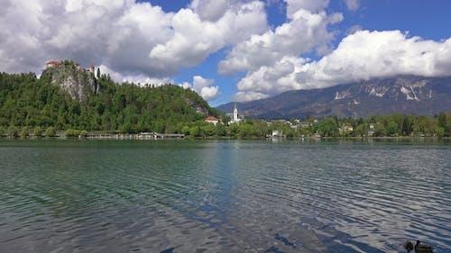 Bled Lake Landscape in Slovenia, Europe