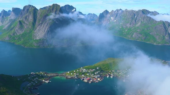 Thumbnail for Lofoten Is an Archipelago in the County of Nordland, Norway.
