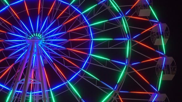 Thumbnail for Ferris Wheel at Night