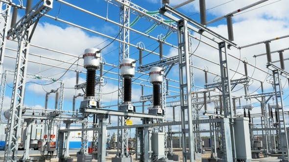 Thumbnail for Electrical Distributing Equipment at Substation