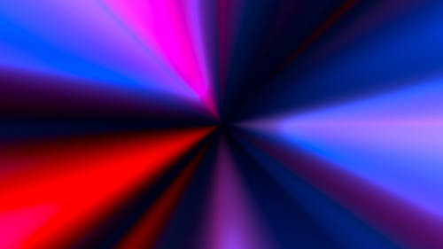 Colorful Ray Light Beam