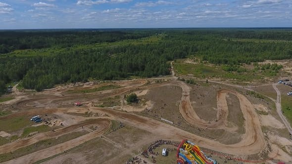 Thumbnail for 10 June 2018 Russian Federation, Bryansk Region, Ivot - Extreme Sports, Cross-country Motocross