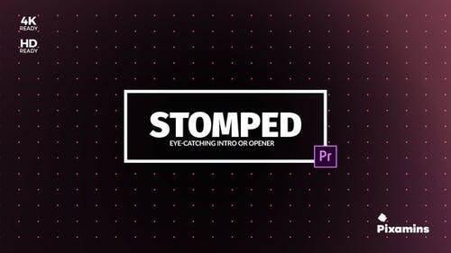 Stomped Opener   For Premiere PRO