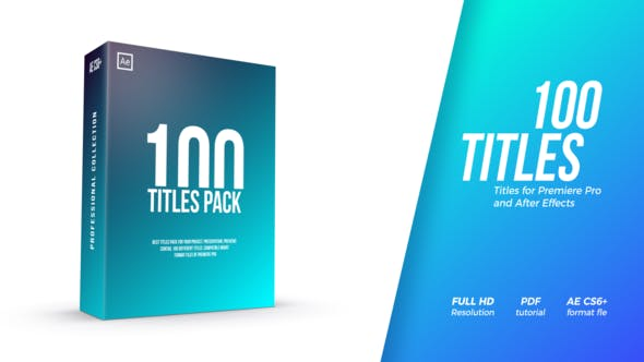 Cover Image for Titles Pack
