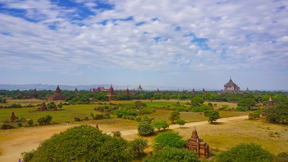 Cover Image for Temples in Bagan, Myanmar (Burma)