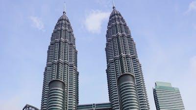 Petronas Twin Towers at Kuala Lumpur,